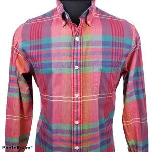 J. Crew Casual Plaid Button Down Shirt Size Medium